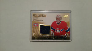 Carey Price 2014/2015 Upper Deck Trypitchs Trilogy 3 Card