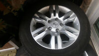 3 Nissan Altima Rims and Summer Tires with TPMS.