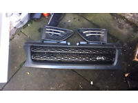 Range Rover Sport 2005-2013 front grill and side grills