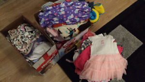 BIG LOT girl clothes 0-24 month