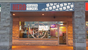 Franchise Business For Sale- Hero Certified Burger-Richmond Hill