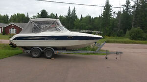 2004 22 fOOT STINGRAY FRESH WATER BOAT, EXCELLENT SHAPE