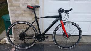 hybrid bike - custom built