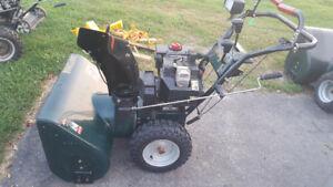 Blue Collar Small Engine Used Snowblowers Pre-Season Sale