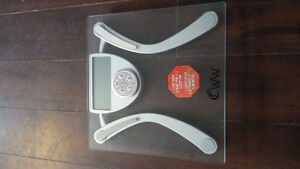 Weight Watchers Body Fat/Hydration/BMI Bathroom Scale