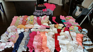 Girl Clothing 3 Month Size (73 Items) $70