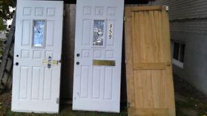 portes extérieures a vendre