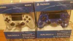 2 Brand New Sealed PS4 Controllers