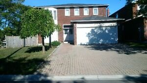 3 bedroom large, clean Markham basement apartment available
