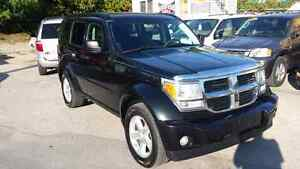 2008 Dodge Nitro  4x4 SAFETY+E-TEST included London Ontario image 1