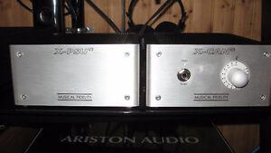 ampli casque a tube musical fidelity x-can-v3 et power supply