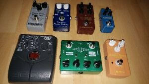 Pédales TC Electronic, Keeley, Mad Professor,Joyo,Caline, Zoom