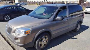 2006 Pontiac Montana Minivan for Parts or Repair