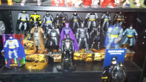 Selling Mattel and Neca Batman figures