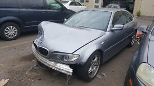 2004 BMW 3-Series Coupe (2 door) Salvage, For parts only