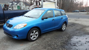 2008 Toyota Matrix Sedan