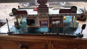 jouet Année 1950- 60 services center marx complet
