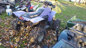 97 polaris scrambler 500 4x4 with ownership Windsor Region Ontario image 4