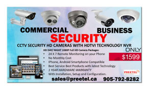 CCTV Security Cameras HD with HDTVI Technology NVR - $1599.00