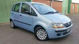 2005(55) FIAT IDEA 1.3JTD 16v MULTIJET ACTIVE TURBO DIESEL BLUE