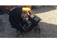 Graco double tandem stroller