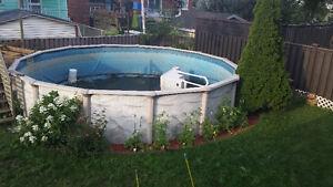 piscine 21 pied a vendre