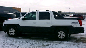 Chevy Avalanche  4x4 1500