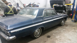 1964 Plymouth Fury, Poly 318, Push-button auto