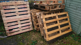 Pallets free for collection