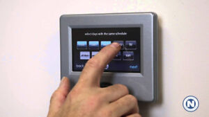 Carrier Infinity Touch Smart Thermostat - Control 8 zones