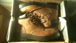 Steel Toe Safety Boots  John Palmer Co (boxed perfect condition)