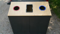 Recycling / Garbage Industrial Collector, Bin, ex.cond.