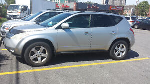 PARTING OUT NISSAN MURANO  SILVER COLOR V6 AWD.