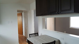 Spacious recently renovated upstairs apartment.