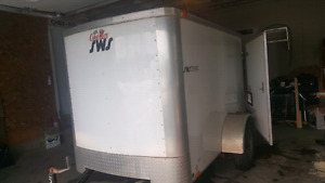 5x8, 2012 covered trailer