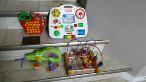 Interactive baby toys all for $10