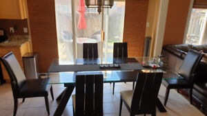 Dining table with 8 chairs, Make an offer
