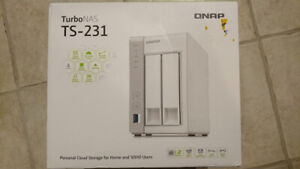 QNAP NAS TS-231 (Network Attached Storage)