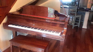 """5'5"""" baby grand piano.  Story and Clark."""