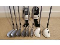 Adams IDEA Super S Iron (5-PW) and Hybrid (3-4) Golf Clubs (Regular Flex)