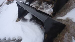 """96"""" HV HLA Snow bucket Skidsteer Qtach 10% off all IN Stock"""