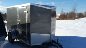 New 6X10 Enclosed Cargo Trailer