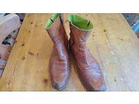 Mens dealer boots