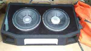 "Two JBL 12""  GTO Series 1400 Watt Subs"