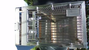 LARGE STAINLESS STEEL VETRINARIAN PET, BIRD, ANIMAL CAGE Stratford Kitchener Area image 2