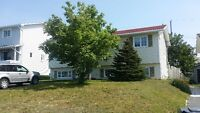 Main floor 3 BEDROOM house in Mt. Pearl available in Sep.