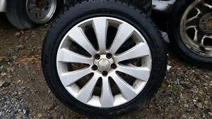 PNEUS 17'' Nokian + Mags Subaru Saint-Hyacinthe Québec image 1