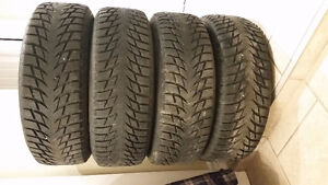 4 good winter tires 215 65 16