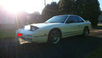 1993 Nissan 240SX LE Coupe 5spd, 184000kms Original.