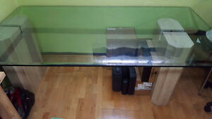 FREE  - Glass Dining Table - 6' long - FREE